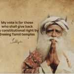 SADGURU'S CALL  FOR FREEING  TEMPLES LEADS TO CALLS FOR TAKEOVER OF ISHA FOUNDATION